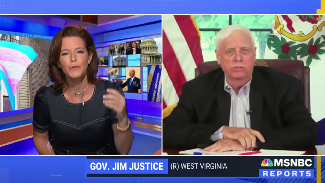 West Virginia governor comes up short on TV when he tries to defend his anti-trans law