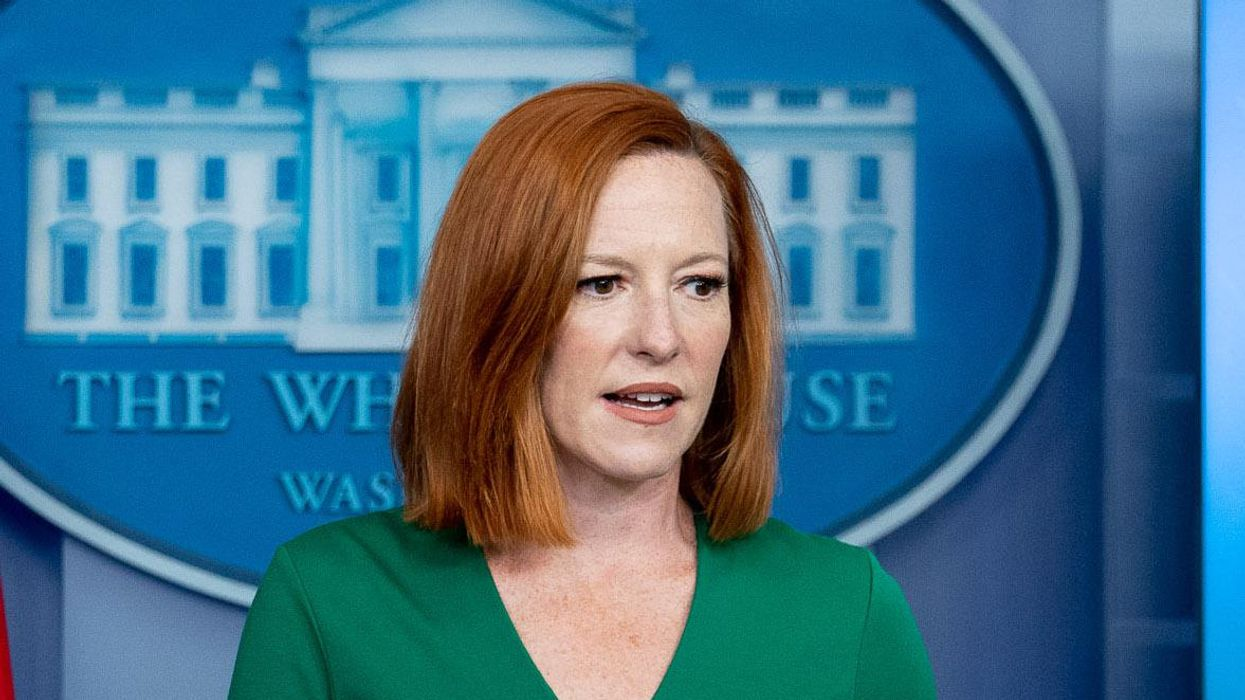 'There's no reason to yell': Jen Psaki shoots down right-wing reporter outraged about Hunter Biden