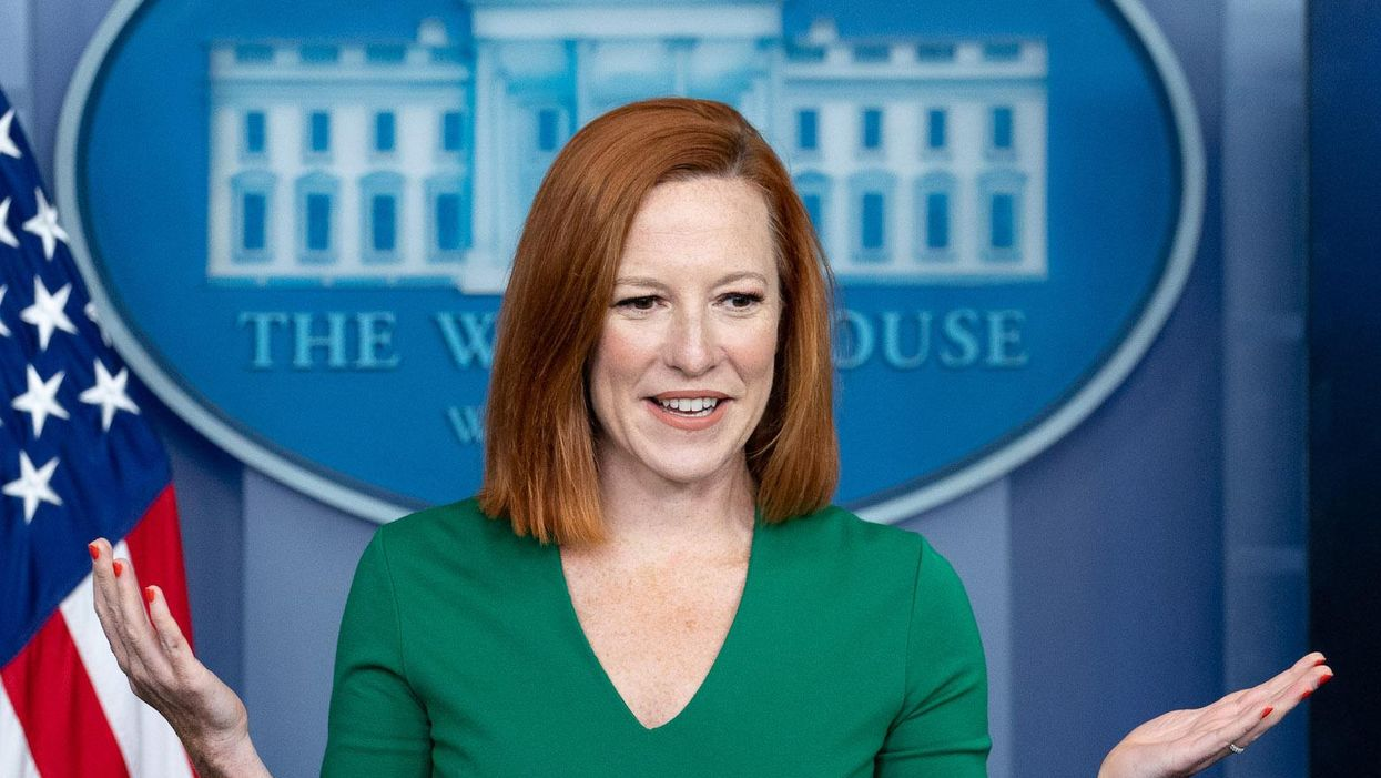 Watch: Psaki dryly says Biden 'has no intention to lead an insurrection'