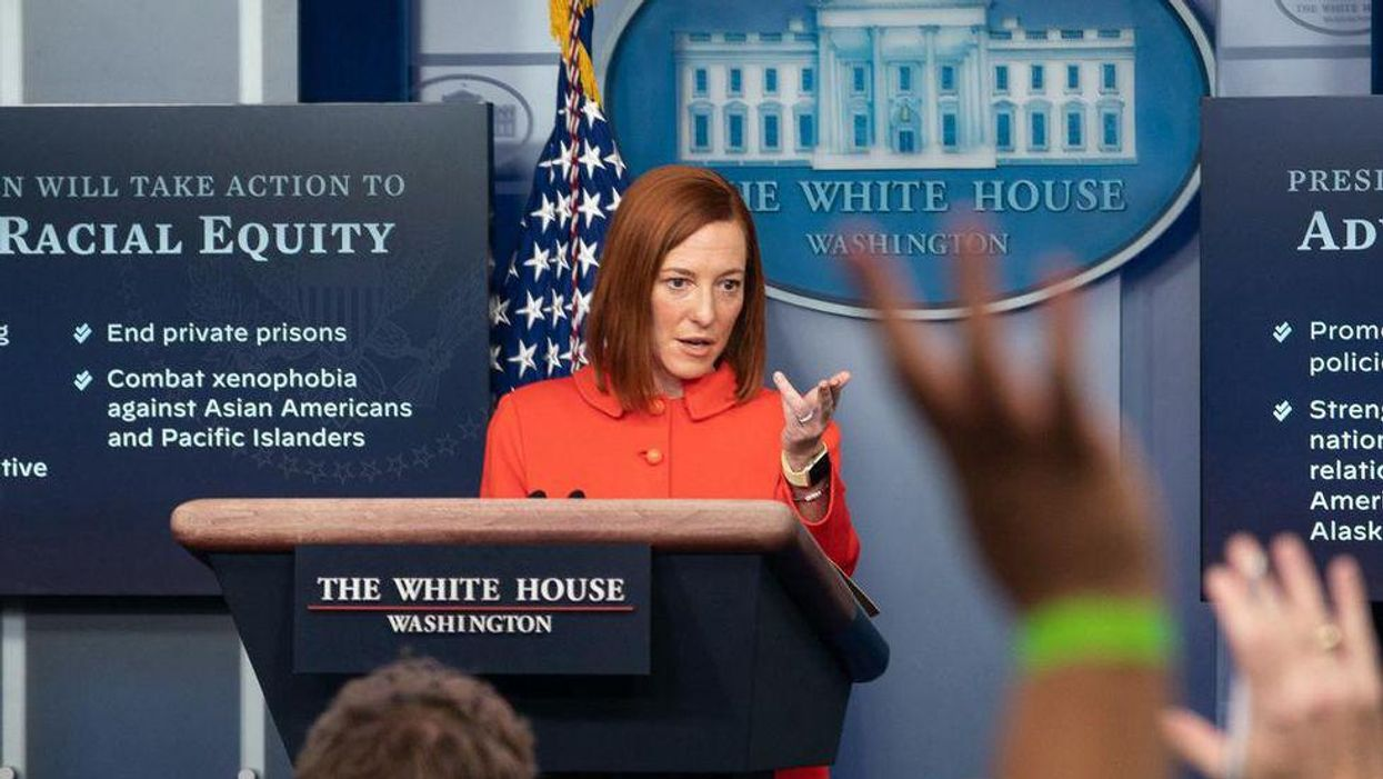 Jen Psaki swats down Peter Doocy: 'We do something new here and allow DOJ to act independently'