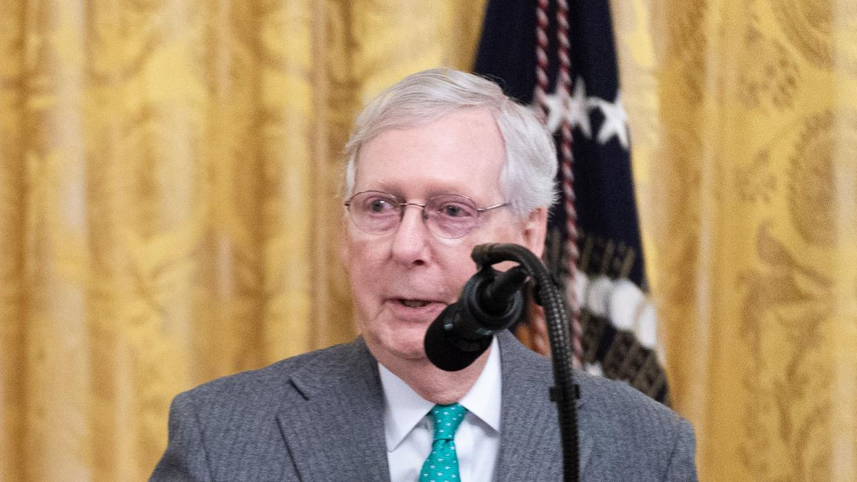 Mitch McConnell's tirade shows that he's really getting scared